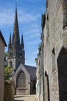 France, Bretagne, (29), Finistère,  Pont-Croix:   Notre-Dame de Roscudon