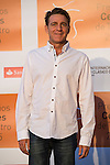 Juanjo Artero poses for the photographers during 2015 Theater Ceres Awards photocall at Merida, Spain, August 27, 2015. <br /> (ALTERPHOTOS/BorjaB.Hojas)
