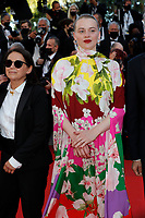 """CANNES, FRANCE - JULY 14: Ildiko Enyedi and  Luna Wedler  at the """"A Felesegam Tortenete/The Story Of My Wife"""" screening during the 74th annual Cannes Film Festival on July 14, 2021 in Cannes, France.<br /> CAP/GOL<br /> ©GOL/Capital Pictures"""