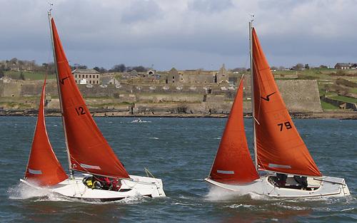 Squib racing at Kinsale Harbour