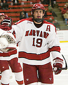 Alex Killorn (Harvard - 19) - The Harvard University Crimson defeated the visiting Yale University Bulldogs 8-2 in the third game of their ECAC Quarterfinal matchup on Sunday, March 11, 2012, at Bright Hockey Center in Cambridge, Massachusetts.