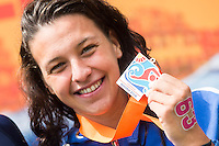 BRIDI Arianna ITA bronze medal<br /> Hoorn, Netherlands <br /> LEN 2016 European Open Water Swimming Championships <br /> Open Water Swimming<br /> Women's 10km<br /> Day 01 10-07-2016<br /> Photo Giorgio Perottino/Deepbluemedia/Insidefoto