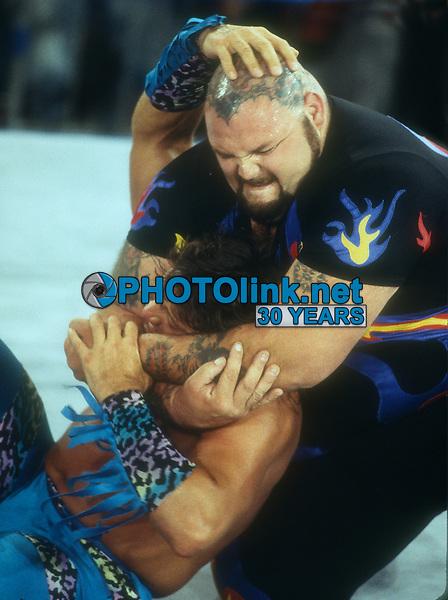 Bam Bam Bigelow, 1995, Photo By John Barrett/PHOTOlink