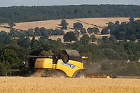 20-7-2021 Harvesting Winter Barley In Rutland <br /> ©Tim Scrivener Photographer 07850 303986<br />      ....Covering Agriculture In The UK....