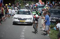 Edvald Boasson Hagen (Nor/DimensionData)<br /> <br /> Stage 18 (ITT) - Sallanches › Megève (17km)<br /> 103rd Tour de France 2016