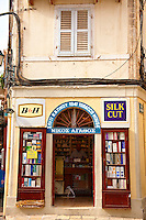 tobacconist , Corfu Old Town, Greek Ionian Islands