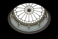 The staircase oculus, designed by Robert Lorimer in the neo-classical style