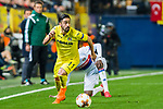 Jaume Vicent Costa Jorda, J Costa, of Villarreal CF in action during the UEFA Europa League 2017-18 Round of 32 (2nd leg) match between Villarreal CF and Olympique Lyon at Estadio de la Ceramica on February 22 2018 in Villarreal, Spain. Photo by Maria Jose Segovia Carmona / Power Sport Images