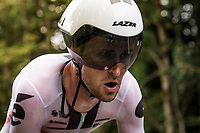 Tiesj Benoot (BEL/Sunweb) on the steep parts of the individual time trial up the infamous Planche des Belles Filles<br /> <br /> Stage 20 (ITT) from Lure to La Planche des Belles Filles (36.2km)<br /> <br /> 107th Tour de France 2020 (2.UWT)<br /> (the 'postponed edition' held in september)<br /> <br /> ©kramon