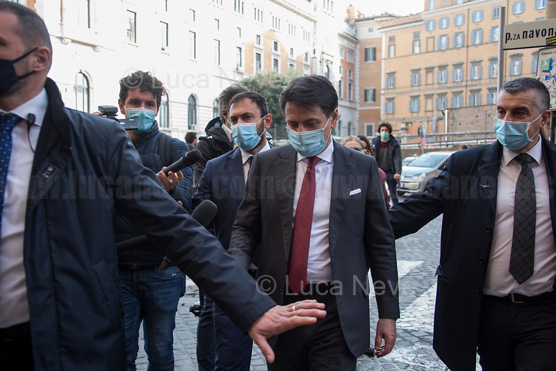 Giuseppe Conte, former Italian Prime Minister who resigned on the 26th of January 2021 - http://bit.do/fNssS .<br />