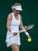 England, London, 28.06.2014. Tennis, Wimbledon, AELTC, Tracy Austin (USA)<br /> Photo: Tennisimages/Henk Koster