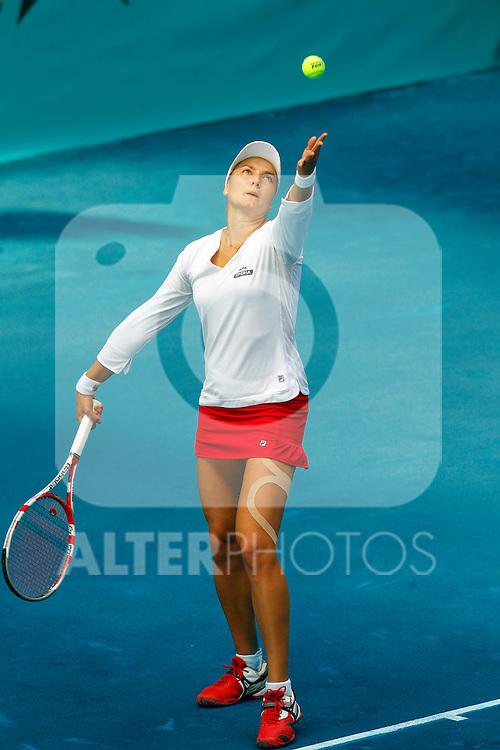 Ana Ivanovic during Mutua Madrid Open 2012 match on may 8th 2012...Photo: Cesar Cebolla / ALFAQUI