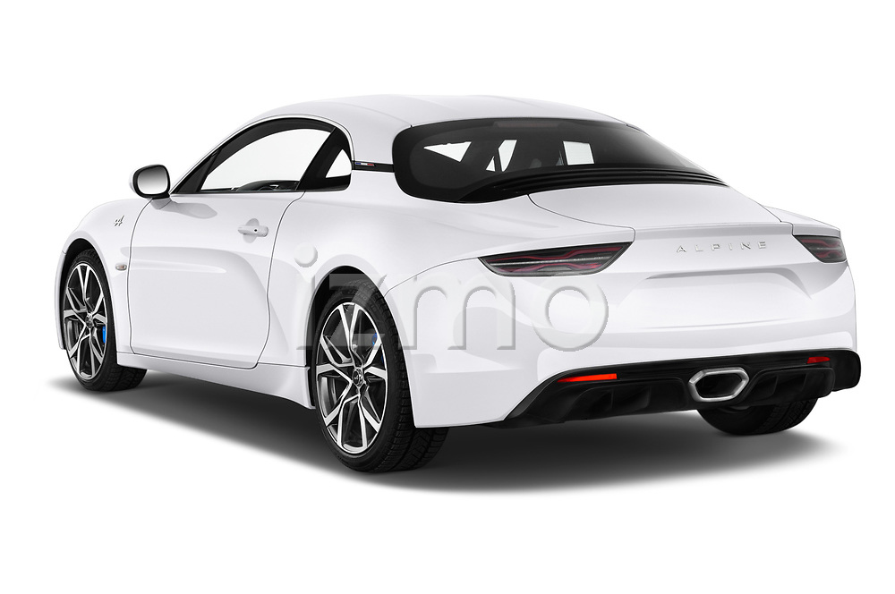 Rear three quarter view of 2019 Alpine A110 Pure 2 Door Coupe