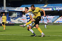 Jake Cooper of Millwall shot goes wide during Queens Park Rangers vs Millwall, Sky Bet EFL Championship Football at Loftus Road Stadium on 18th July 2020