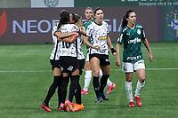 São Paulo (SP), 12/09/2021 - PALMEIRAS-CORINTHIANS - Partida entre Palmeiras e Corinthians válida pela primeira partida da final do Campeonato Brasileiro Feminino no Allianz Parque em São Paulo neste domingo (12).