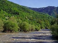 Fluss Mtkavari - Kura bei Akhaldaba, Samzche-Dschawacheti, Georgien, Europa<br /> river Mtkwari-Kura near Akhaldaba, Samzche-Dschawacheti,  Georgia, Europe