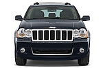 Straight front view of a 2009 Jeep Grand Cherokee 5 Door