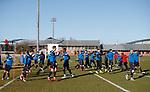 090218 Rangers training