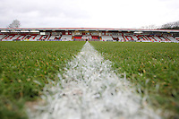 General view of the ground during Stevenage vs Crawley Town, Sky Bet League 2 Football at the Lamex Stadium, Stevenage, England on 06/02/2016