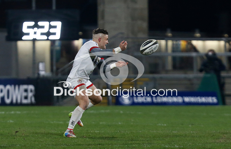 6 March 2021; Ian Madigan the Guinness PRO14 match between Ulster and Leinster at Kingspan Stadium in Belfast. Photo by John Dickson/Dicksondigital