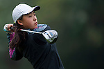 Yiyi Liu of China in action during the Hyundai China Ladies Open 2014 on December 12 2014, in Shenzhen, China. Photo by Xaume Olleros / Power Sport Images