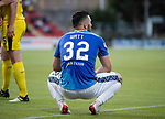 St Johnstone v Falkirk…24.07.18…  McDiarmid Park    Betfred Cup<br />Tony Watt<br />Picture by Graeme Hart. <br />Copyright Perthshire Picture Agency<br />Tel: 01738 623350  Mobile: 07990 594431