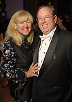 Donna and John Spear at the Houston Symphony's opening night gala dinner at The Corinthian Saturday Sept. 12, 2009. (Dave Rossman/For the Chronicle)