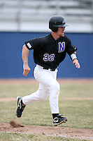 March 22nd 2009:  Catcher Matt Lucchesi (32) of the Niagara University Purple Eagles during a game at Sal Maglie Stadium in Niagara Falls, NY.  Photo by:  Mike Janes/Four Seam Images
