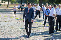 Am Freitag den 23. August 2019 stellten der Berliner Innensenator Andreas Geisel (SPD) (im Bild) und der Landesbranddirektor der Berliner Feuerwehr, Dr. Karsten Homrighausen, zehn neuen Loesch- und Hilfeleistungsfahrzeuge (LHF) der Berliner Feuerwehr vor.<br /> 23.8.2019, Berlin<br /> Copyright: Christian-Ditsch.de<br /> [Inhaltsveraendernde Manipulation des Fotos nur nach ausdruecklicher Genehmigung des Fotografen. Vereinbarungen ueber Abtretung von Persoenlichkeitsrechten/Model Release der abgebildeten Person/Personen liegen nicht vor. NO MODEL RELEASE! Nur fuer Redaktionelle Zwecke. Don't publish without copyright Christian-Ditsch.de, Veroeffentlichung nur mit Fotografennennung, sowie gegen Honorar, MwSt. und Beleg. Konto: I N G - D i B a, IBAN DE58500105175400192269, BIC INGDDEFFXXX, Kontakt: post@christian-ditsch.de<br /> Bei der Bearbeitung der Dateiinformationen darf die Urheberkennzeichnung in den EXIF- und  IPTC-Daten nicht entfernt werden, diese sind in digitalen Medien nach §95c UrhG rechtlich geschuetzt. Der Urhebervermerk wird gemaess §13 UrhG verlangt.]