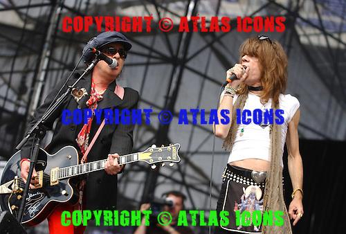 New York Dolls; David Johansen; Sylvain Sylvain;.Photo Credit: Eddie Malluk/Atlas Icons.com