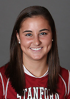 STANFORD, CA - OCTOBER 29:  Catherine Swanson of the Stanford Cardinal women's lacrosse team poses for a headshot on October 29, 2009 in Stanford, California.