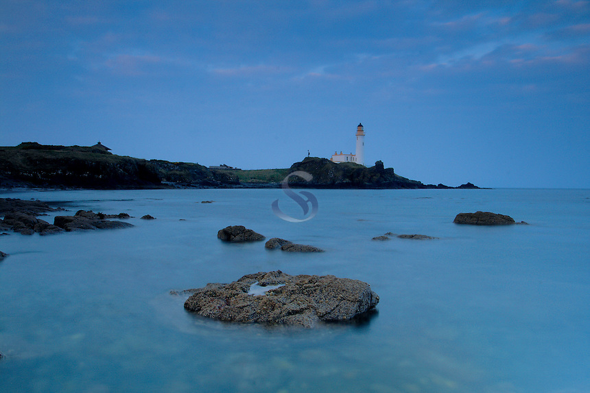 Turnberry Lighthouse and Turnberry Point, Ayrshire<br /> <br /> Copyright www.scottishhorizons.co.uk/Keith Fergus 2011 All Rights Reserve