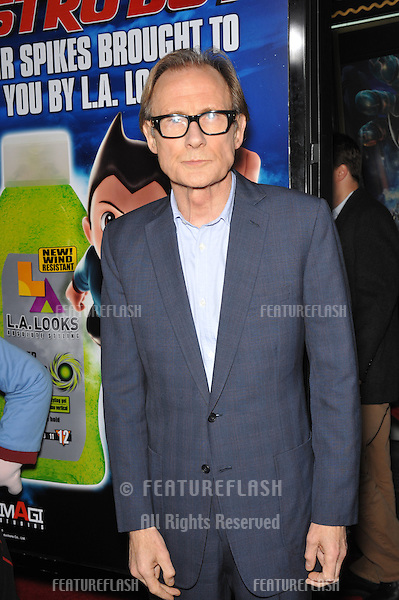 """Bill Nighy at the Los Angeles premiere of his new animated movie """"Astro Boy"""" at Grauman's Chinese Theatre, Hollywood..October 19, 2009  Los Angeles, CA.Picture: Paul Smith / Featureflash"""