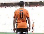 BRISBANE, AUSTRALIA - OCTOBER 30: Tommy Oar of the roar looks on during the round 4 Hyundai A-League match between the Brisbane Roar and Perth Glory at Suncorp Stadium on October 30, 2016 in Brisbane, Australia. (Photo by Patrick Kearney/Brisbane Roar)