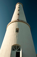 At 30.7 meters high, Säppi Lighthouse towers skyward in the Gulf of Bothnia southwest of Pori, Finland.