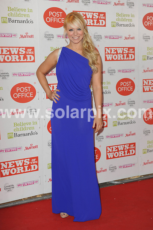 **ALL ROUND PICTURES FROM SOLARPIX.COM**                                             **WORLDWIDE SYNDICATION RIGHTS**                                                                                  Caption: Arrivals for The Children's Champions Awards at Grosvenor House Hotel, London, UK. 30 March 2011                                                                       This pic: Liz McClarnon                                                              JOB REF: 13046 LNJ       DATE: 30_03_2011                                                           **MUST CREDIT SOLARPIX.COM OR DOUBLE FEE WILL BE CHARGED**                                                                      **MUST AGREE FEE BEFORE ONLINE USAGE**                               **CALL US ON: +34 952 811 768 or LOW RATE FROM UK 0844 617 7637**