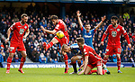 Rangers claim for a handball and a penalty