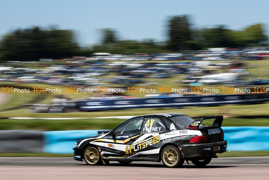 Dom Flitney, Subaru Impreza, Retro 4WD during the 5 Nations BRX Championship at Lydden Hill Race Circuit on 31st May 2021
