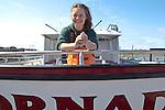 Washington Coast, Westport, Lacey Peters, fishing charters, people of the Washington Coast, The Nature Conservancy, Emerald Edge, TNC, commercial fishing boats, Port of Westport, Grays Harbor County, Southwest Washington, Washington State, Pacific Northwest, USA,
