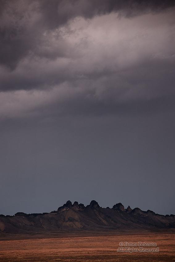 Volcanic Ridge, near Shiprock, New Mexico