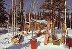 Trapper's cabin at Watta Lake NWT