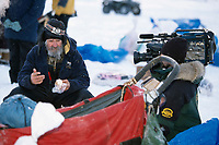 C.Boulding Interviewed By TV @ White Mountain Alaska<br /> 2004 Iditarod