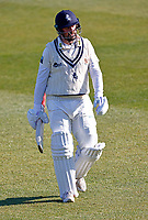 Darren Stevens of Kent shows his despair after being dismissed by Harry Brook during Kent CCC vs Yorkshire CCC, LV Insurance County Championship Group 3 Cricket at The Spitfire Ground on 16th April 2021