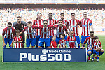 Atletico de Madrid Team poses for photos during the La Liga match between Atletico de Madrid vs Osasuna at Estadio Vicente Calderon on 15 April 2017 in Madrid, Spain. Photo by Diego Gonzalez Souto / Power Sport Images