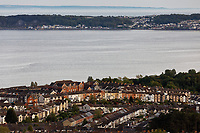 Pictured: The Brynmill area of Swansea with Mumbles in the background. Wednesday 22 May 2019<br /> Re: General view of Swansea, Wales, UK