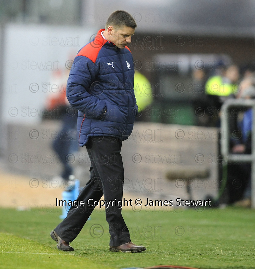 05/12/2009  Copyright  Pic : James Stewart.sct_jspa22_falkirk_v_rangers  . :: AN UNHAPPY FALKIRK MANAGER EDDIE MAY  SEES HIS TEAM BEATEN AGAIN AT HOME:: .James Stewart Photography 19 Carronlea Drive, Falkirk. FK2 8DN      Vat Reg No. 607 6932 25.Telephone      : +44 (0)1324 570291 .Mobile              : +44 (0)7721 416997.E-mail  :  jim@jspa.co.uk.If you require further information then contact Jim Stewart on any of the numbers above.........