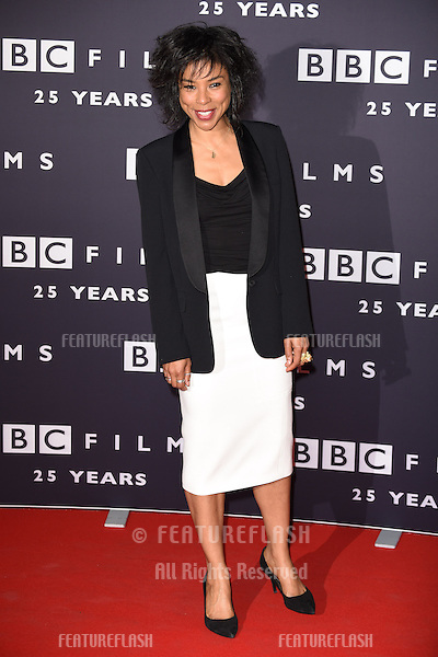 Sophie Okonedo arrives for the BBC Films' 25th Anniversary Reception at Radio Theatre, New Broadcasting House, London. 27/03/2015 Picture by: Steve Vas / Featureflash