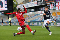 Connor Mahoney of Millwall and Djed Spence of Middlesbrough during Millwall vs Middlesbrough, Sky Bet EFL Championship Football at The Den on 8th July 2020
