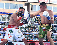 CARSON, CA - MAY 1: Jesus Ramos Jr. vs Javier Molina on the Fox Sports PBC Pay-Per-View fight on May 1, 2021 at Dignity Health Sports Park in Carson, CA. (Photo by Frank Micelotta/Fox Sports/PictureGroup)