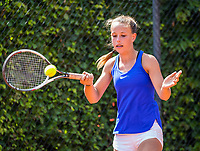 Hilversum, Netherlands, August 7, 2017, National Junior Championships, NJK, Laurèl Polman<br /> Photo: Tennisimages/Henk Koster